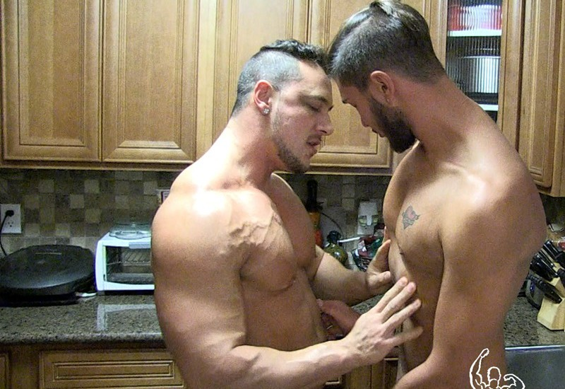 Justin Dean could not wait to hop on Joey D's huge cock