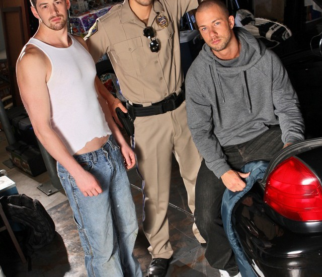 Hot threesome Andrew Stark, Rod Daily and Tyler Torro