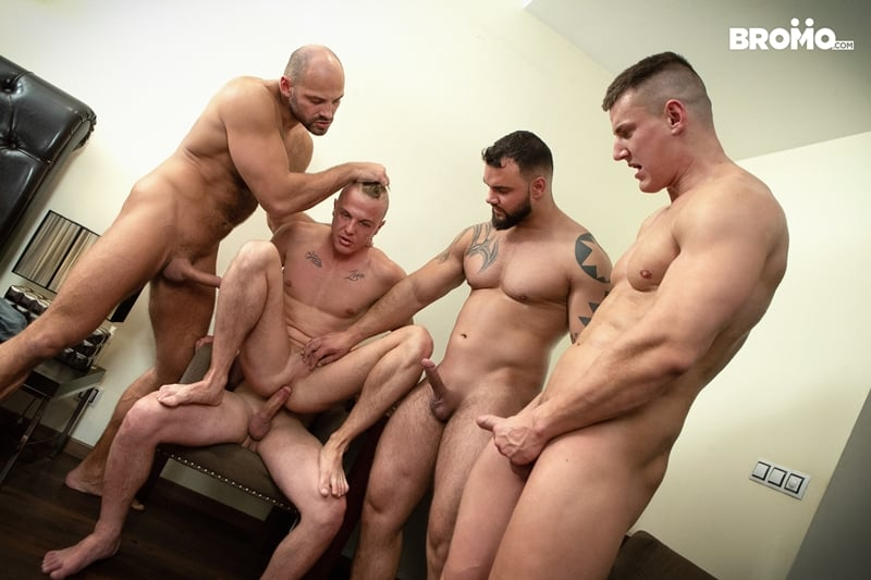Bromo-Hot-naked-sub-dude-four-masked-men-bareback-fucking-ass-holes-014-gay-porn-pictures-gallery