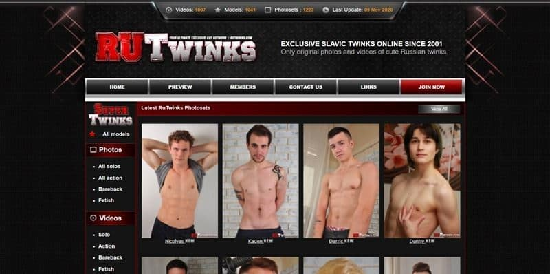 RU Twinks – Gay Porn Site Review